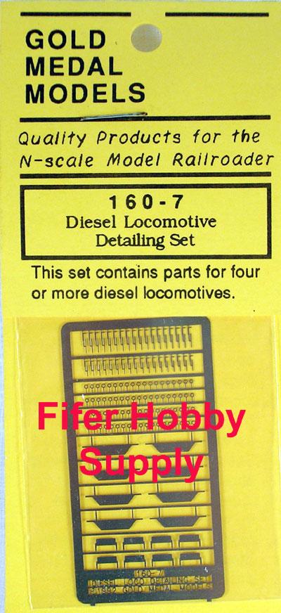 GMM-1607 Gold Medal Models Diesel Loco Detail Set