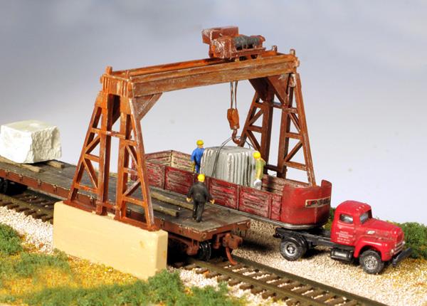 Mm 9301 N Scale Overhead Gantry Crane