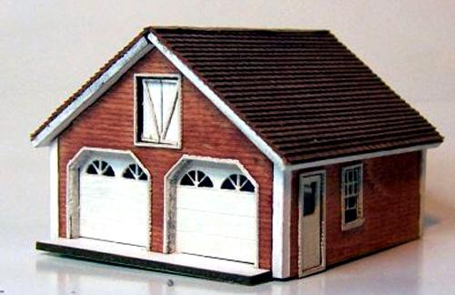 RSL-3033 RSL N Scale Cape Garage Kit